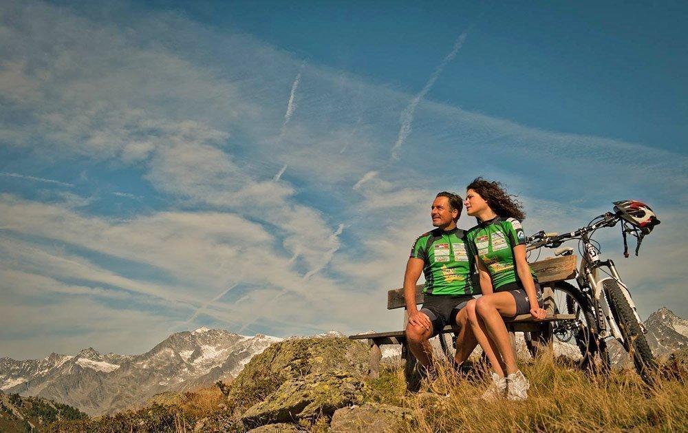 Radurlaub in Südtirol – Mountainbiken im Tauferer Ahrntal
