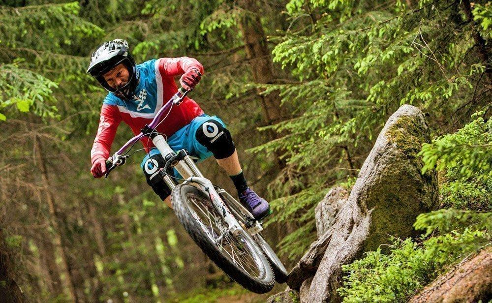 Anspruchsvolle Mountainbike-Strecken im Hochgebirge