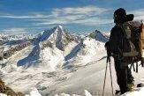Alpinista Hochgall Valle Aurina